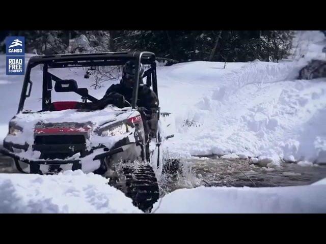 ATV UTV track systems a new video of the Camoplast T4S in action