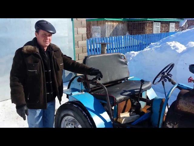 Паровой трактор Орлик