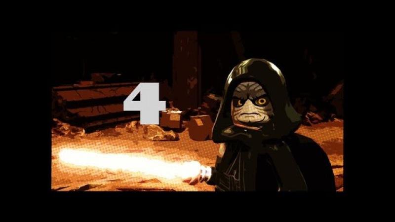 Lego Star Wars 4 Три Дарта Моула