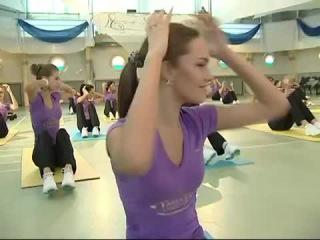 Мастер-класс Ляйсан Утяшевой для Мисс Россия 2012
