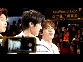 [FANCAM]141203 Infinite Sungjong Random cuts @ MAMA 2014