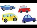 МАШИНЫ - развивающая песенка мультик про автомобили и тракторы для детей малышей.