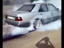 Mercedes Benz w124 Brutal Drift Burnout Part 2 ✔