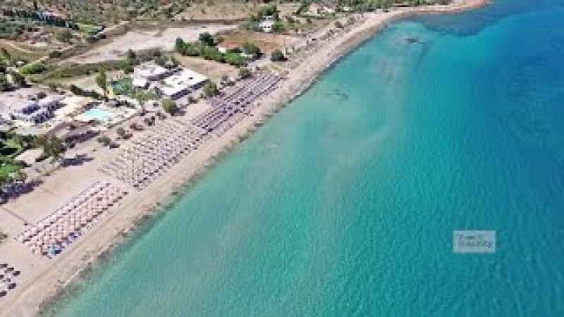 Παραλία Αλυκές Δροσιάς Χαλκίδα Drosia Beach Chalkis Drone Greece