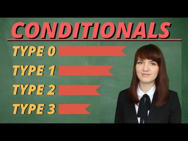 Понять Conditionals или сослагательное наклонение раз и навсегда Conditionals Types 0 1 2 3