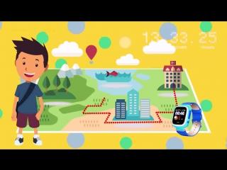 Видеообзор детских умных часов