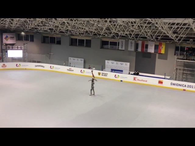 Luca Lucaroni Rebecca Tarlazzi, World Games 2017, Artistic roller skating, Pairs - Long program
