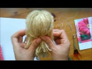 How to make easy your Doll's hair