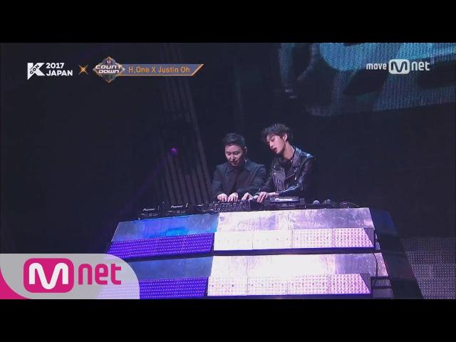 KCON Japan DJ Jusin Oh x MONSTA X HyungWon JooHeon BAM BAM BAM 170525 EP 525ㅣ KCON 2017 Japan×M