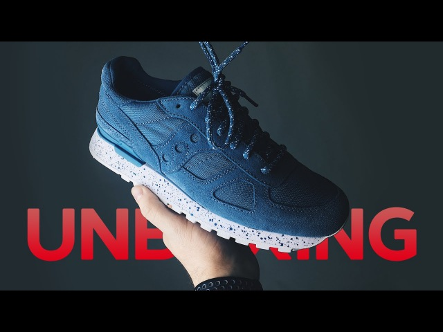 Unboxing и обзор Saucony Jazz Mono Shadow Original Rip Stop и Nike SB Portmore