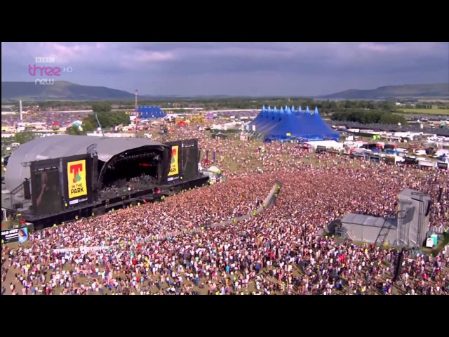 Imagine Dragons Radioactive T in the Park 2014