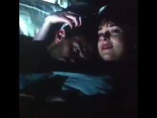 """Разговор Аны и Кристиана на яхте """"Грейс""""."""