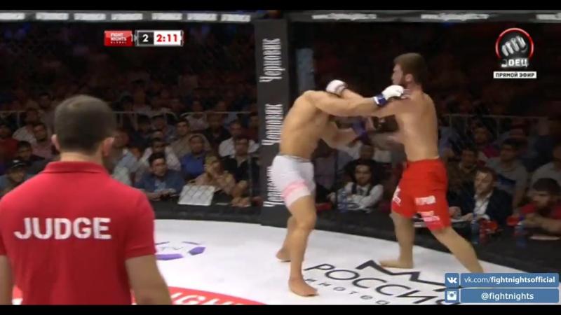 Русимар Пальярес vs Шамиль Амиров Rousimar Palhares vs Shamil Amirov