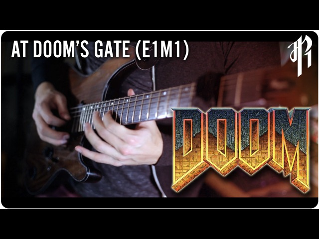 DOOM E1M1 At Doom's Gate Metal Cover RichaadEB ToxicxEternity