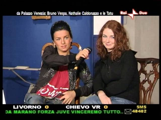 T A T u on Rai2 Italian TV
