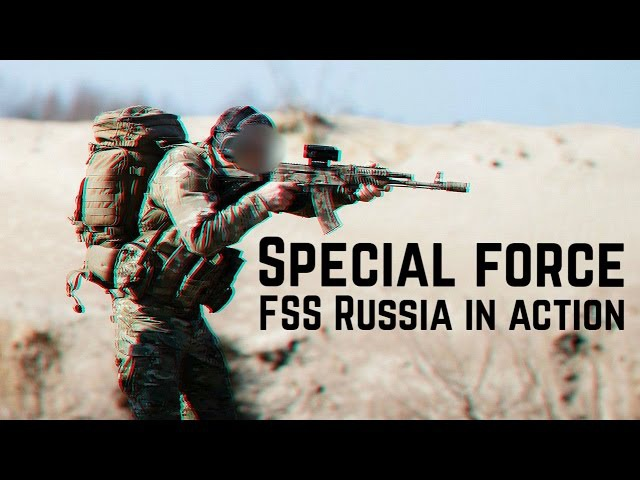 Спецназ ФСБ России в действии Special force FSS Russia in action