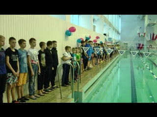 Плавательный бассейн города Пикалёво отметил 40-летний юбилей