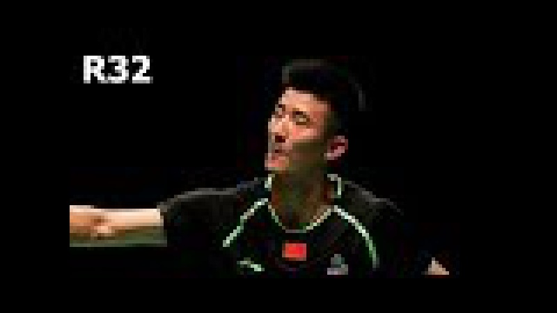 CHEN Long vs Marc ZWIEBLER Badminton 2017 Indonesia Open