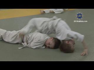 Зеленоград спортивный. Дзюдо. Детская тренировка 4-7 лет.