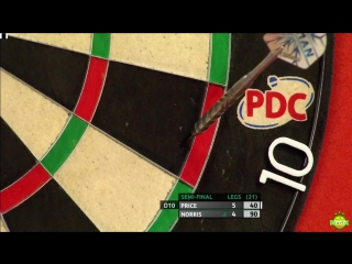 Gerwyn Price vs Alan Norris (Coral UK Open 2017 / Semi Final)