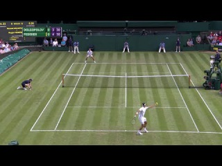 Roger Federer hits 10,000th career ace at Wimbledon 2017