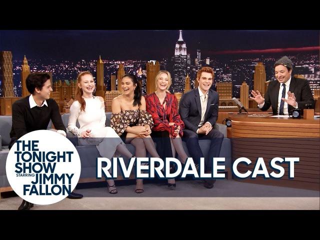 Октябрь 2017   Каст сериала «Ривердейл» на шоу Джимми Фэллона