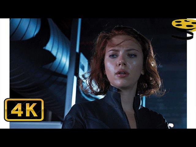 Чёрная Вдова против Соколиного Глаза Мстители 4K ULTRA HD