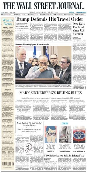 The Wall Street Journal Europe January 31 2017 FreeMags