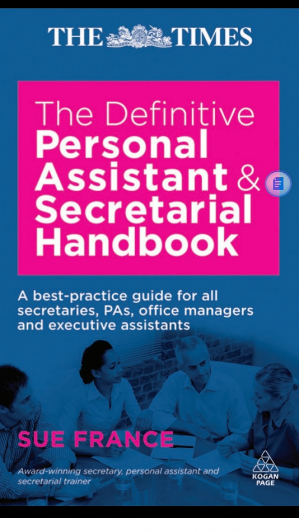 The Definitive Personal Assistant Secretary handbook
