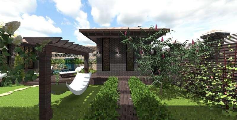 Идея ландшафтного дизайна. Сад в современном стиле, изображение №6