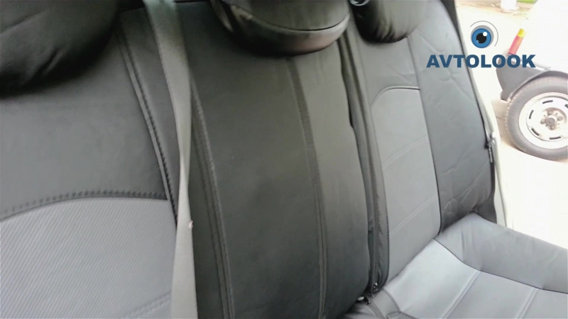 AVTOLOOK адаптивный чехол Renault Laguna II Видео Отзыв Руслан