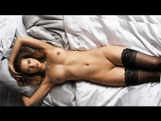 Leona Mia (Blue Lace) Erotic, Posing, Solo