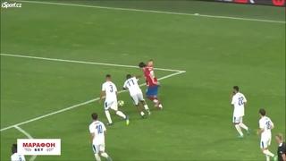 Прощальный матч Томаша Росицки..и ребенок забивает гол)))
