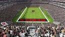 Проект Las Vegas Stadium г Лас Вегас штат Невада США