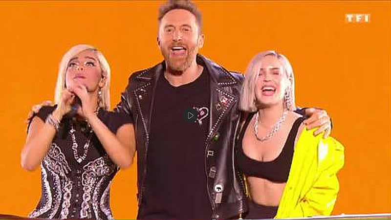 David Guetta feat Bebe Rexha Anne Marie Medely Say My Name Don't Leave Me Alone NRJ Music Awards 2018