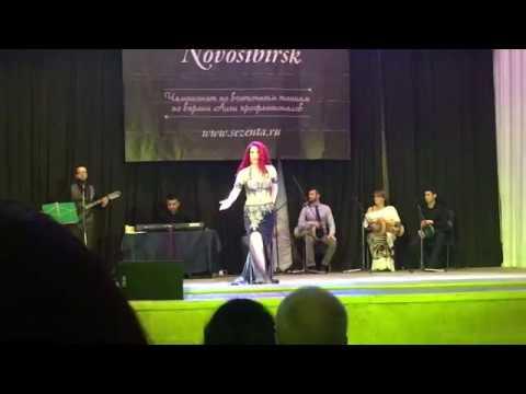 Чечулина Ульяна Гала концерт Raks al malak 2018 выступление с Baladi Band г. Новосибисрк