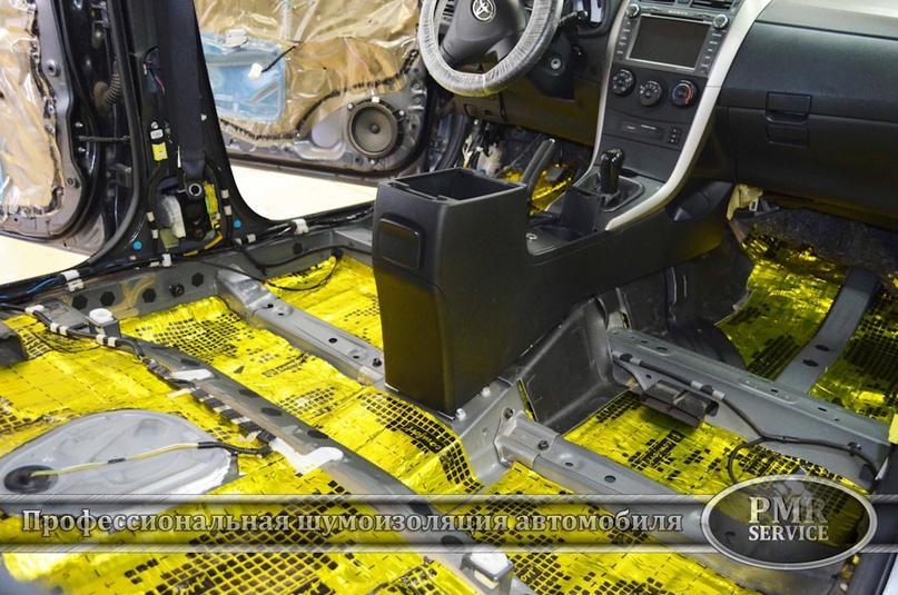 Шумоизоляция Toyota Corolla, изображение №12
