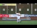 Liveleakcom Russian Footballer scores Incredible Backflip Penalty Goal