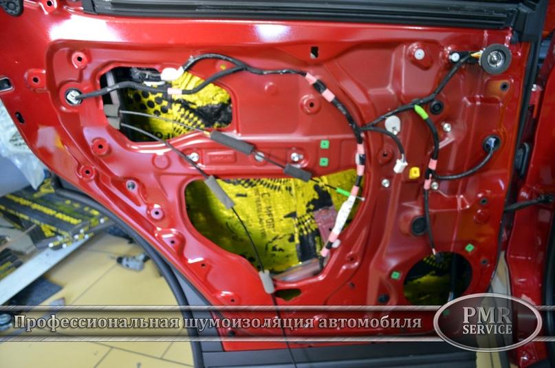 Комплексная шумоизоляция Lexus RX, изображение №13