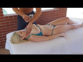 Katy jayn пышнотелая, зрелая, блондинка заказала себе эротический массаж груди