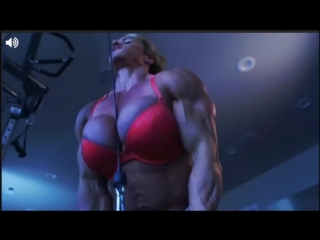 Aleesha Young Busty Ripped Workout Crazy Super