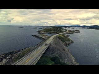 Atlantic road by drone! (world's most beautiful road).wmv