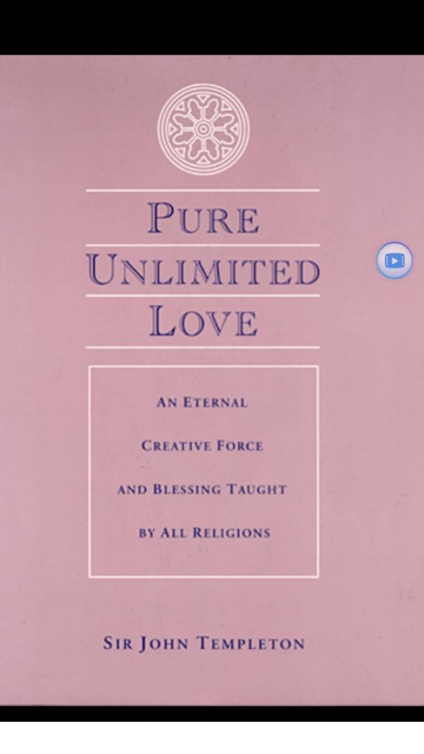 Pure Unlimited Love An Eternal