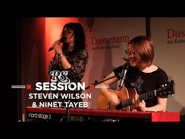 "Session Steven Wilson Ninet Tayeb mit ""People Who Eat Darkness"""