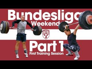 Rebeka Koha & Ritvars Suharevs Bundesliga Weekend Part 1 First Training Session after Arrival
