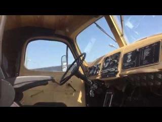 ЗИЛ-157 Лесоруб вид внутри кабины