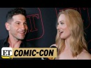 Comic-Con 2017: 'Punisher' Stars Jon Bernthal and Deborah Ann Woll Talk 'Daredevil' Spinoff!