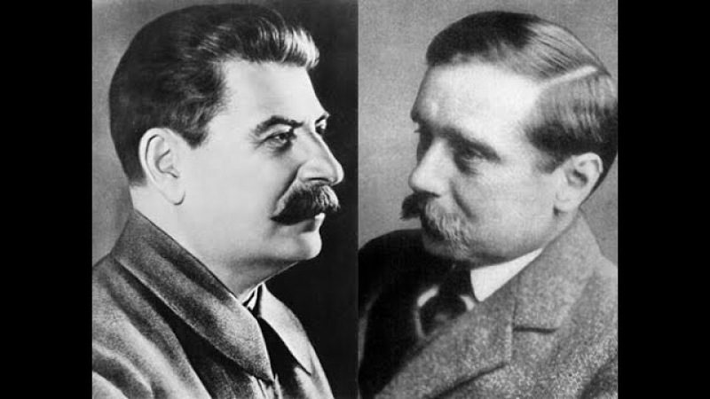 И Сталин Беседа с английским писателем Г Д Уэллсом 23 июля 1934 года