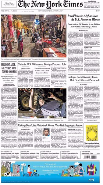The New York Times August 06 2017