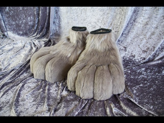 Tutorial 2 Feet paws for Fursuit Cosplay PDF Pattern